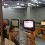 View of the India Emporium game center