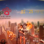 Pet expo fashion show