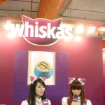 Whiskas booth