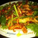 Thai food at Huay Kwang Terrace