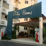 Entrance at City Home