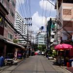 View of Ratchada soi 10 walking towards Ratchada road