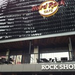 Hard Rock Cafe outside