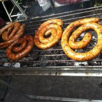 Lots of delicious Chiang Mai Sausages