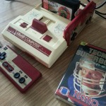 Family Computer with Tecmo Football