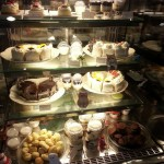 Desserts display case